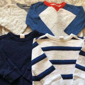 5 Piece Long Sleeve Lot size 12-18 Months